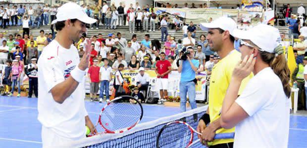 Pereiranos disfrutaron de una exhibición de tenis de alto nivel