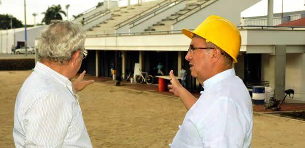 Gobernador del Valle realizó inspección a los escenarios para juegos mundiales