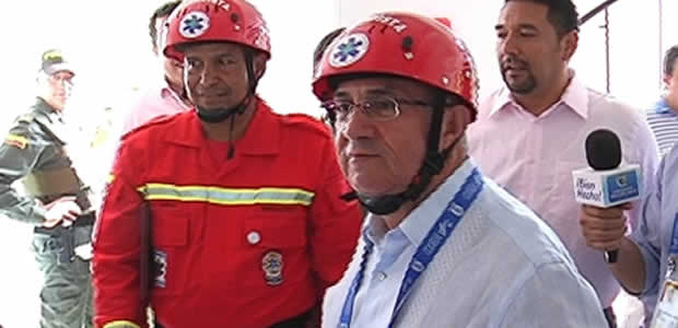 Se inaugura en el Valle sede de brigada de emergencias en el Hospital Universitario