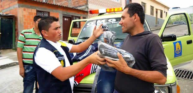 Alcaldía de Armenia entregó ayuda humanitaria a los afectados por incendios estructurales