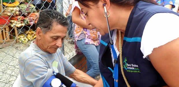 A través del PIC se llevó a cabo jornada de salud en la Placita Cuyabra