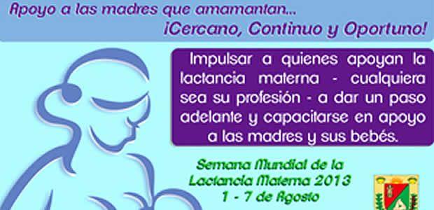 Pereira conmemora la semana de la lactancia materna
