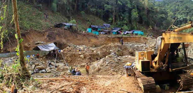 Capturados por minería ilegal en Mistrató Risaralda