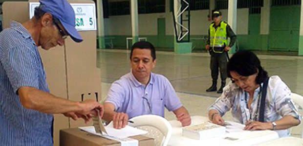 Con tecnología biométrica y celeridad en la entrega de resultados la Registraduría realizó con éxito la elección de Gobernador de Caldas