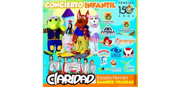 Con el Club 10 y Claridad del Canal Caracol, niños y niñas celebrarán los 150 años de Pereira