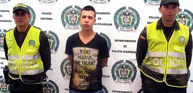 """Capturado alias """"Alex"""" quien es solicitado  por el delito de porte, tráfico o fabricación de armas de fuego"""