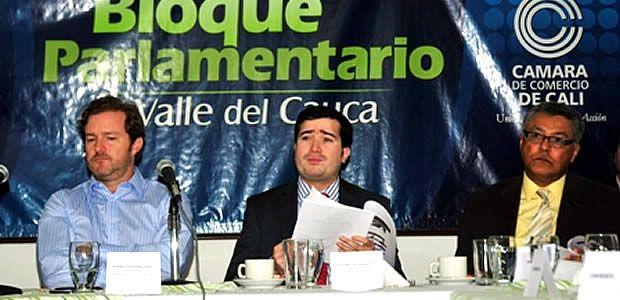 Gobierno del Valle del Cauca unido con el bloque parlamentario para aumentar el presupuesto nacional en el 2014