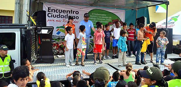 Los niños de Quinchía se sintieron sanos, seguros, felices y capaces