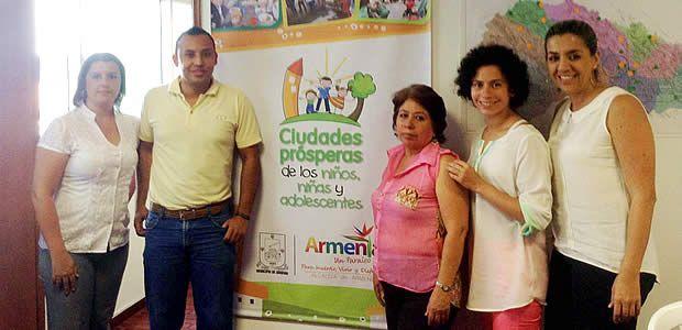 Armenia avanza en cumplimiento del programa de ciudades prósperas de niños, niñas y adolescentes