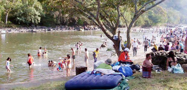 Autoridades alertan sobre el peligro de los paseos a los ríos