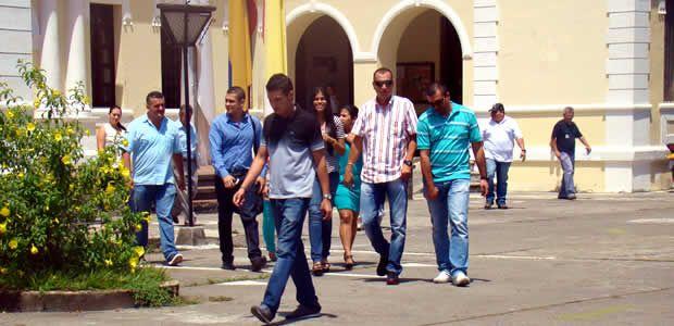 Simulacro de evacuación por sismo en Cartago