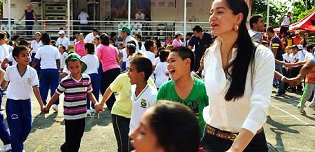 Gobernación del Valle celebra en Cartago el día de los niños