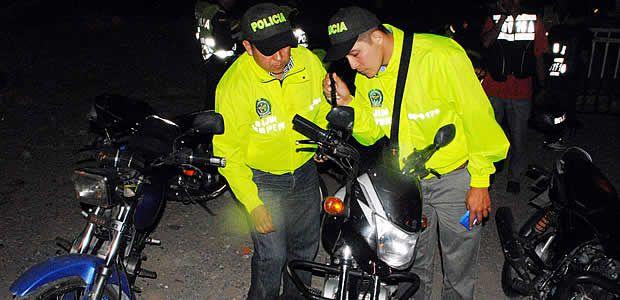 Continúan operativos de recuperación de motocicletas en el área metropolitana