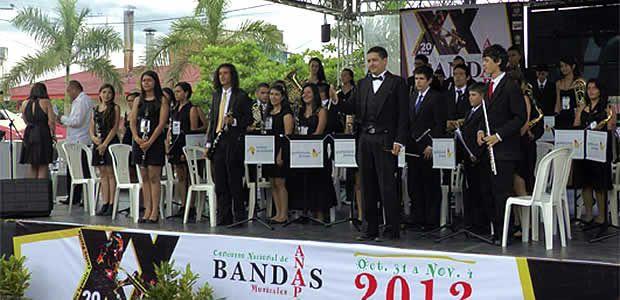 Banda sinfónica juvenil de Pereira, ocupó segundo lugar en concurso nacional de Anapoima