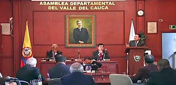 Sustentación del presupuesto para la vigencia 2014 ante la Asamblea del Valle