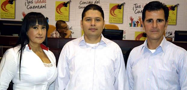 Alcalde felicita a la nueva mesa directiva del Concejo de Pereira