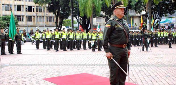 Nuevo Comandante lidera la Policía Metropolitana de Pereira