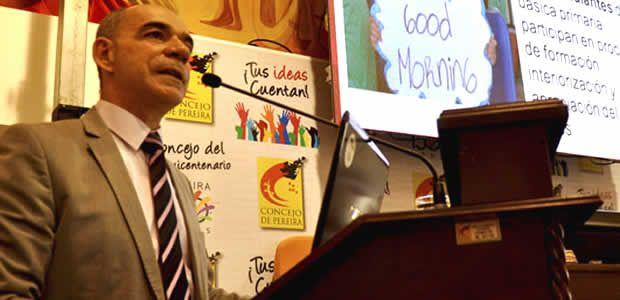 Alcalde Enrique Vásquez realizó jornada de rendición de cuentas de su gestión 2013