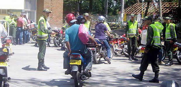 Hasta las 9:00 de la noche podrán circular motos en Cartago este 31 de diciembre