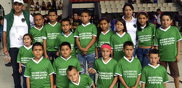 Final de la Liga Infantil Pereira 2013