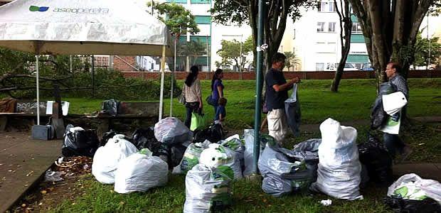Aseo realiza prueba piloto de reciclaje en la Comuna Olímpica
