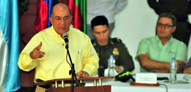Gobernador Ubeimar Delgado rechazó atentado contra concejal de Zarzal