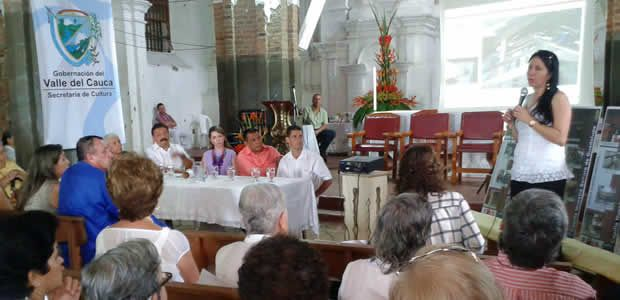 Gobernación del Valle entregó templo de Guadalupe restaurado a Cartago