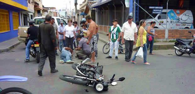 Carrera 8 con calle 9, punto de alta accidentalidad en Cartago