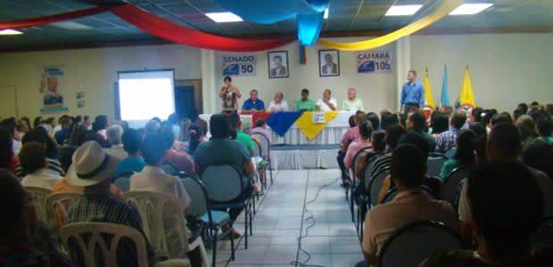Albertistas en Acción realizó en Cartago concentración política este fin de semana