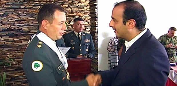 Gobierno del Valle condecoró al comandante saliente de la tercera brigada, brigadier Luis Fernando Rojas