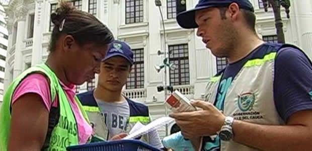 Unidad especial de rentas hace jornadas pedagógicas para combatir el contrabando en el Valle
