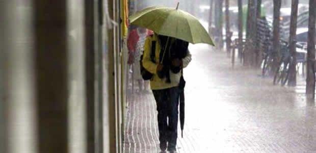 Lluvias empezarán a incrementarse en frecuencia e intensidad