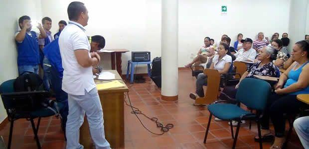 Socialización proyecto de mejoramiento de vivienda en Ansermanuevo