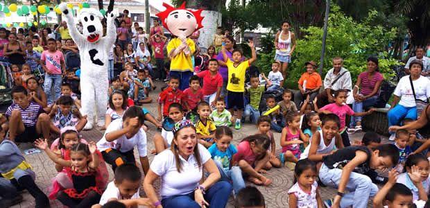 """La Virginia celebró la fiesta de los """"niños sanos, seguros, felices y capaces"""""""