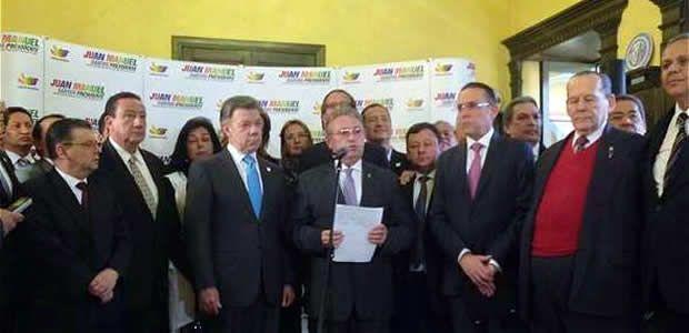 Más de 47 congresistas firmaron una carta de respaldo al Presidente-candidato