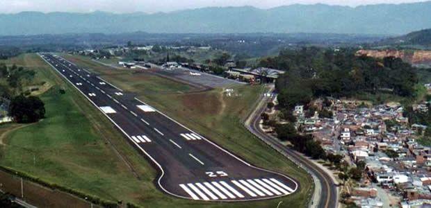 Cabecera 26 del Matecaña certificada para el aterrizaje y despegue de aviones