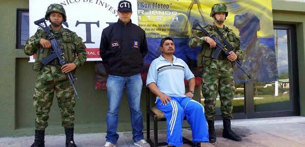 Capturado hombre con circular roja en el municipio de Quinchía