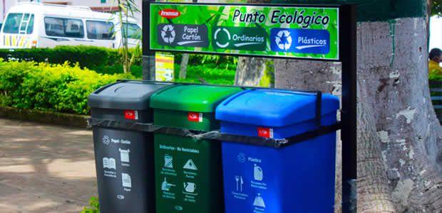 Vallecaucana de aguas comenzó instalación de puntos ecológicos en municipios del programa de educación ambiental