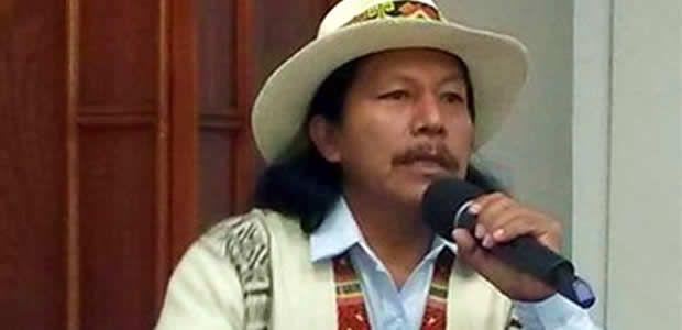 Me notificaron que un Coronel Quiñónez está preparando un golpe de estado: líder indígena