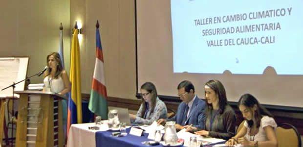 Gobernador (e) del Valle presidió taller sobre cambio climático en Cali
