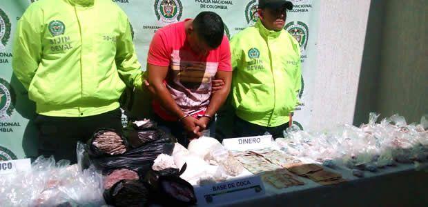 """Capturado alias """"Dayby"""" presunto distribuidor de bazuco en Cartago"""