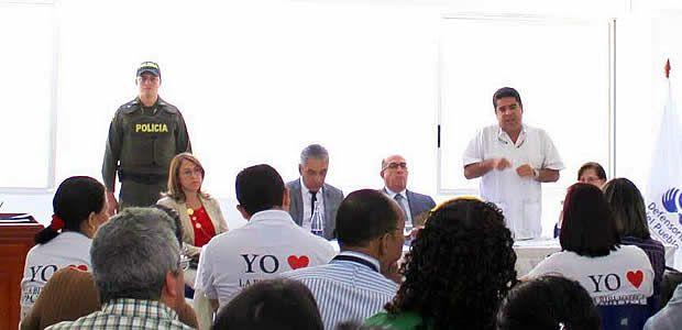 Ubeimar Delgado ratificó recursos por $6.150 millones a institutos de la cultura