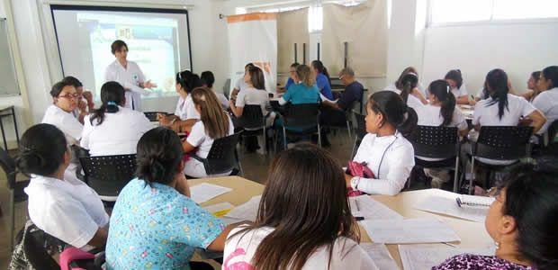 Secretaría de Salud adelanta capacitación en AIEPI con Personal de salud y líderes de la comunidad