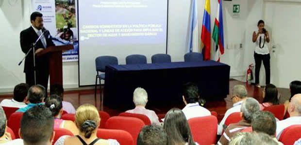 Vallecaucana de aguas socializó propuesta de ajustes a la política pública del sector