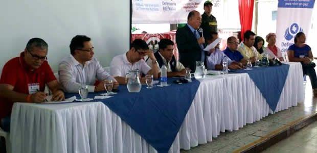 Gobernador del Valle presidió mesa nacional de víctimas en Tuluá