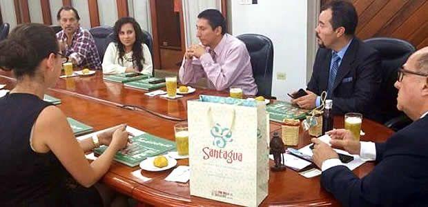 Valle del Cauca estrechó relaciones con el gobierno de Imbabura-Ecuador