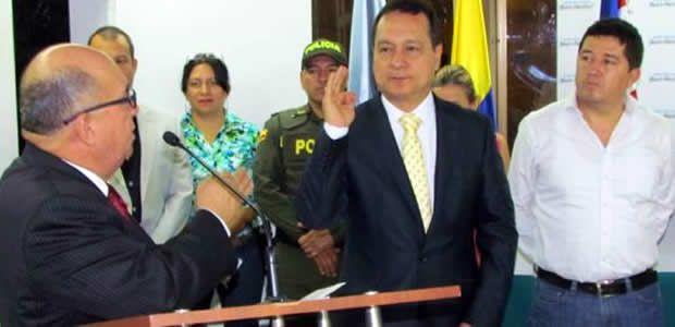 Henry Humberto Arcila Moncada asumió como nuevo asesor del Despacho del Gobernador del Valle