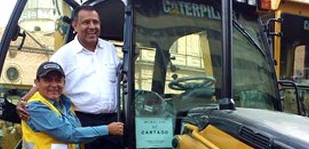 Cartago cuenta con maquinaria pesada para recuperar vías rurales y urbanas