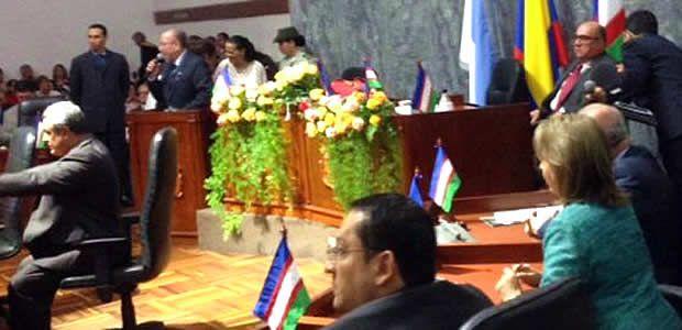 Gobernador del Valle acompañó posesión de mesa directiva del Concejo de Cali 2015