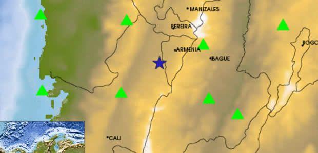 Sismo de intensidad Mw 4 se registró en el Quindío y norte del Valle